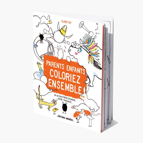 Parents et enfants, coloriez ensemble !